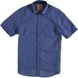 71.6623-110  Shirt S/S Vintage Edition navy